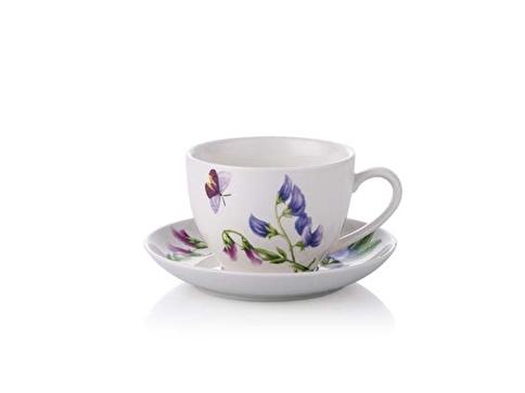 Noble Life  Bahar 6'Lı Çay Fincan Seti Renkli